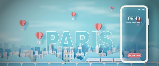 Reizende vakantie eiffel toren parijs stad frankrijk