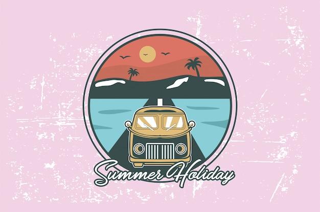 Reizende zomervakantie
