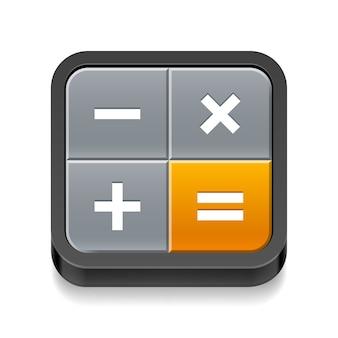 Rekenmachine pictogram