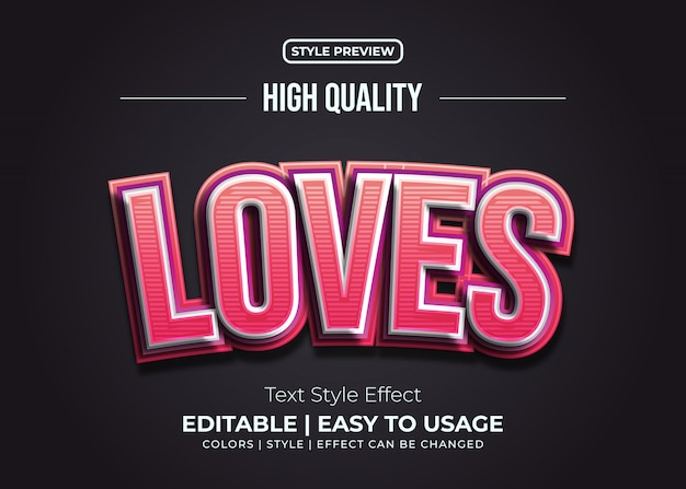 Reliëf rood en roze tekststijleffect met lijnentextuur
