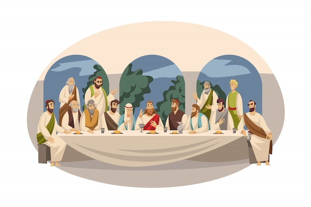 Religie, bijbel, christendom concept
