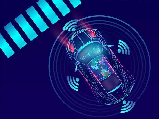 Remote sensing, auto-auto.
