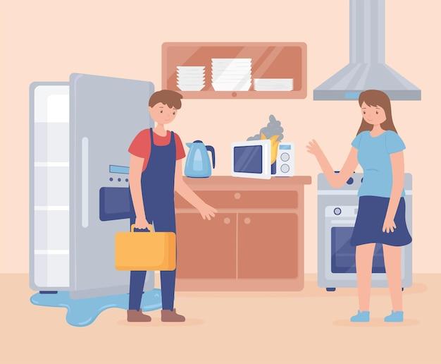 Reparateur koelkast