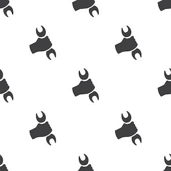 Reparatie, vector naadloos patroon, bewerkbaar kan worden gebruikt voor webpagina-achtergronden, opvulpatronen