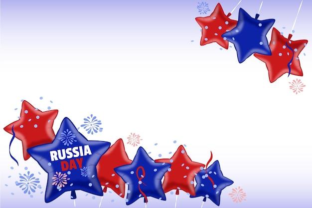 Reslistic rusland dag concept