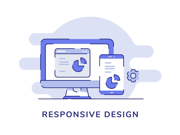 Responsief ontwerpconcept ontwikkelingsproces