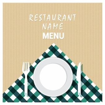 Restaurant achtergrond ontwerp