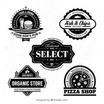 Restaurant badges