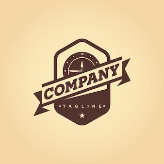 Restaurant, café, bistro vector embleem logo ontwerp