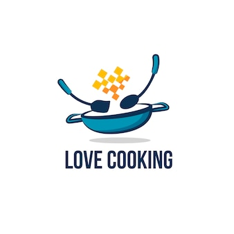 Restaurant logo ontwerpsjabloon