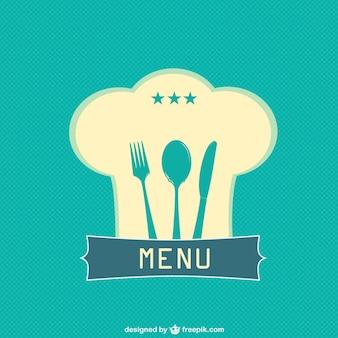 Restaurant template vrije vector