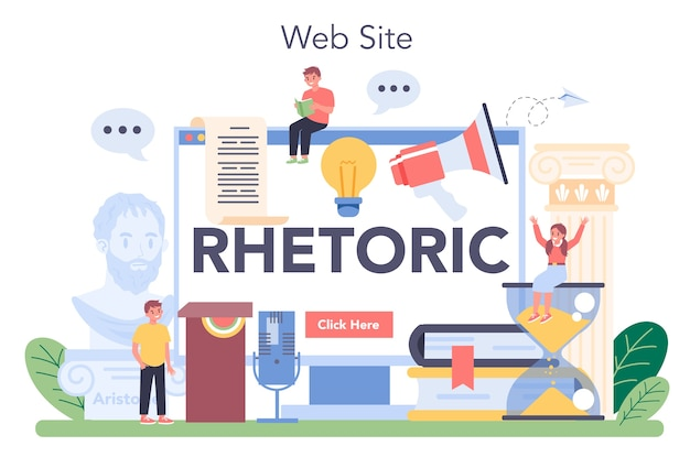 Retoriekklasse online service of platform.