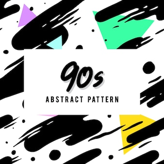 Retro abstract patroon