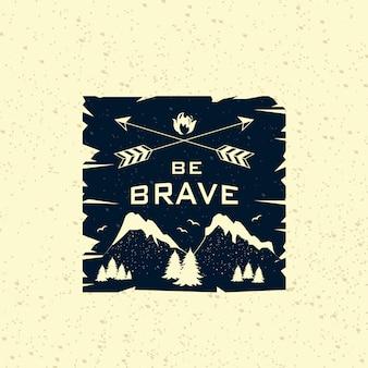 Retro adventure-logo
