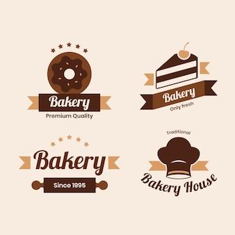 Retro bakkerij logo