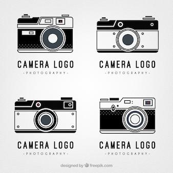 Retro camera logos