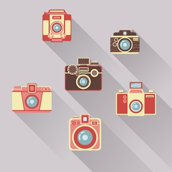 Retro camera's collectie