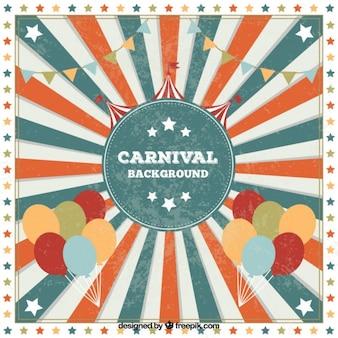 Retro carnaval achtergrond