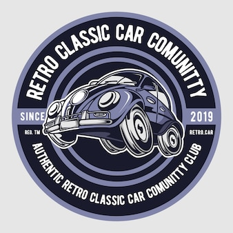 Retro classic car club