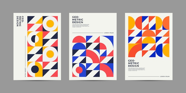Retro design cover-collectie