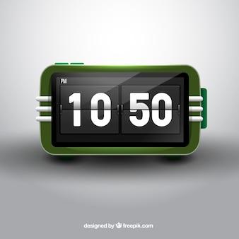 Retro digitale klok