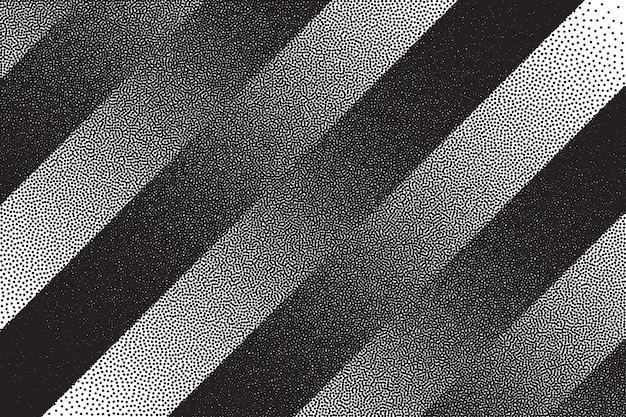 Retro dotwork textuur gestreepte achtergrond