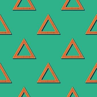 Retro driehoeken patroon, abstracte geometrische achtergrond in de jaren 80, 90 stijl. geometrische eenvoudige illustratie