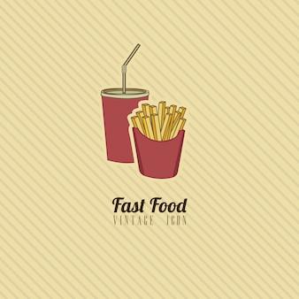 Retro fastfood