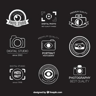 Retro fotografie badges