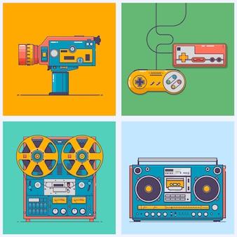 Retro gadgets uit de jaren 90