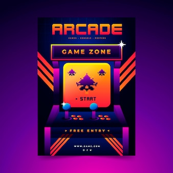 Retro gaming-poster