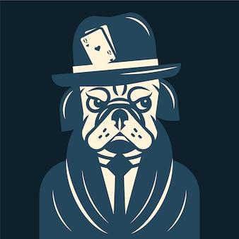 Retro gangster / maffia karakter