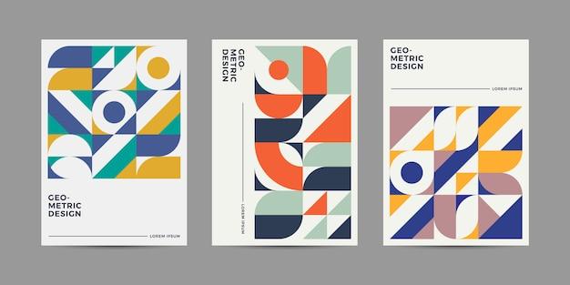 Retro gemetric cover