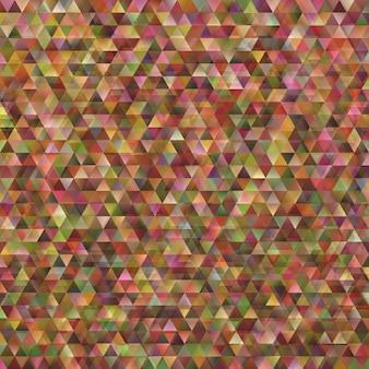 Retro geometrische dubbele achtergrond van het driehoekspatroon