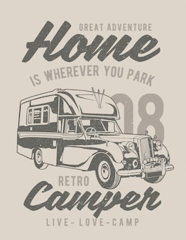 Retro kampeerders