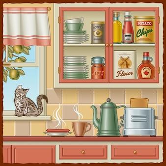 Retro keuken