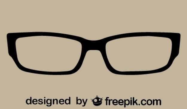 Retro klassieke bril