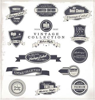 Retro labels