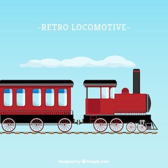 Retro locomotief