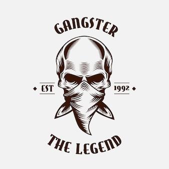 Retro maffia logo