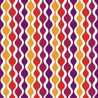 Retro naadloos patroon - nostalgisch ontwerp