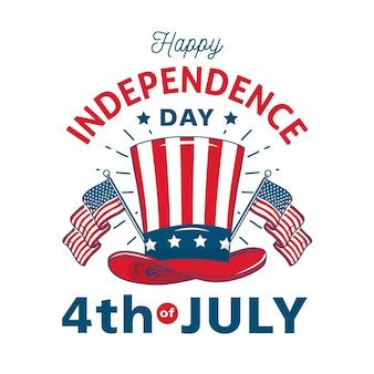 Retro onafhankelijkheidsdag