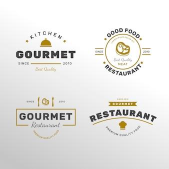 Retro restaurant logo