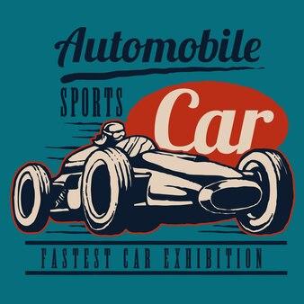 Retro sportraceauto