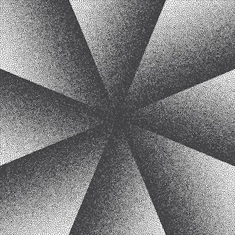 Retro stijl dotwork abstracte achtergrond