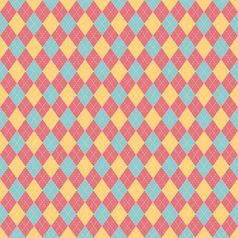 Retro stijl ontwerp naadloze patroon.