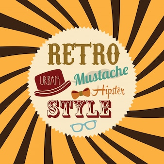 Retro stijl