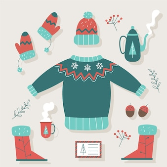 Retro winterkleding en essentials