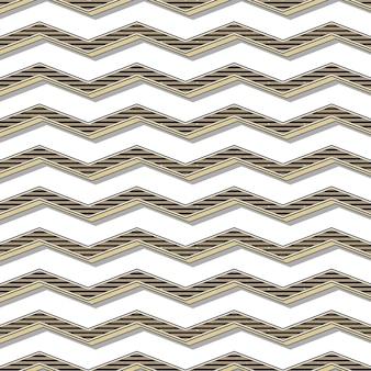 Retro zigzagpatroon, abstracte geometrische achtergrond in de stijl van de jaren 80, 90. geometrische eenvoudige illustratie
