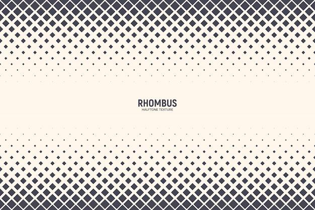 Rhomboid vormen abstracte halftone patroon achtergrond
